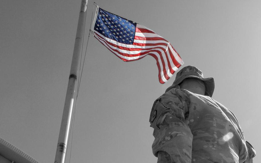 An American soldier supporting Operation Freedom's Sentinel in Afghanistan was killed in action in the eastern part of that country Saturday, April 8, 2017, a U.S. official announced.