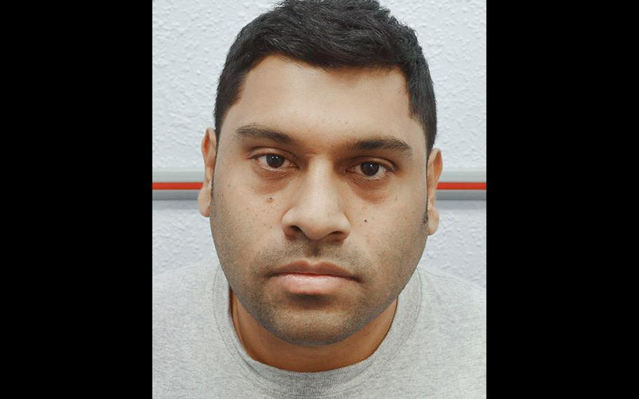 Samata Ullah, who concealed incriminating information in USB-equipped cufflinks, was sentenced to eight years in jail for possession of articles for terrorist purposes and other charges, Tuesday May 2, 2017.