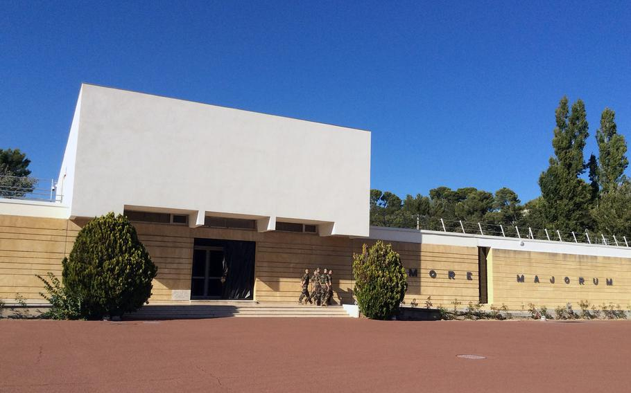 Foreign Legion museum in Aubagne, a garrison town 15 miles north of Marseilles, where the unit's headquarters and main recruitment station are located.