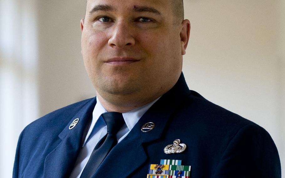 Jerred Mitchell, an Air Force master sergeant assigned to Ramstein Air Base, Germany, almost lost his pension due to being medically retired from the Air Force. He managed to just make it past 20 years after going through two medical evaluation boards and appealing to the Secretary of the Air Force to be returned to duty, an appeal that he lost.