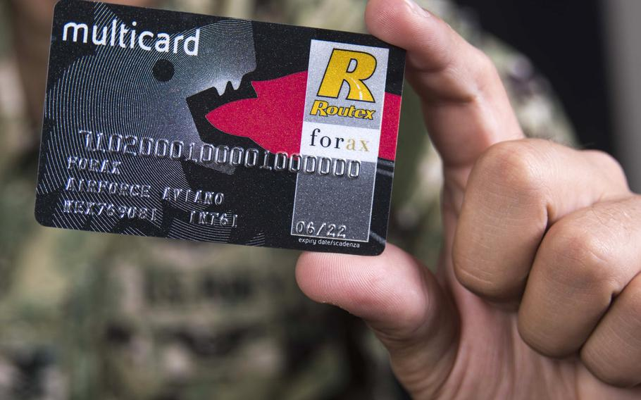 Fuel cards will replace the gas-rationing coupons on Jan. 1 for U.S. servicemembers and Defense Department employees throughout Italy. The cards will be more secure, more convenient and less susceptible to fraud, military officials said.