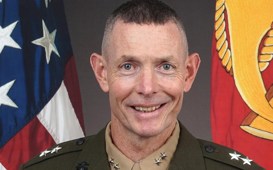 Maj. Gen. Stephen Neary, the two-star general in charge of U.S. Marines in Europe and Africa is under investigation for allegations that he used a racial slur during a recent training event with his troops, the Corps said Friday.