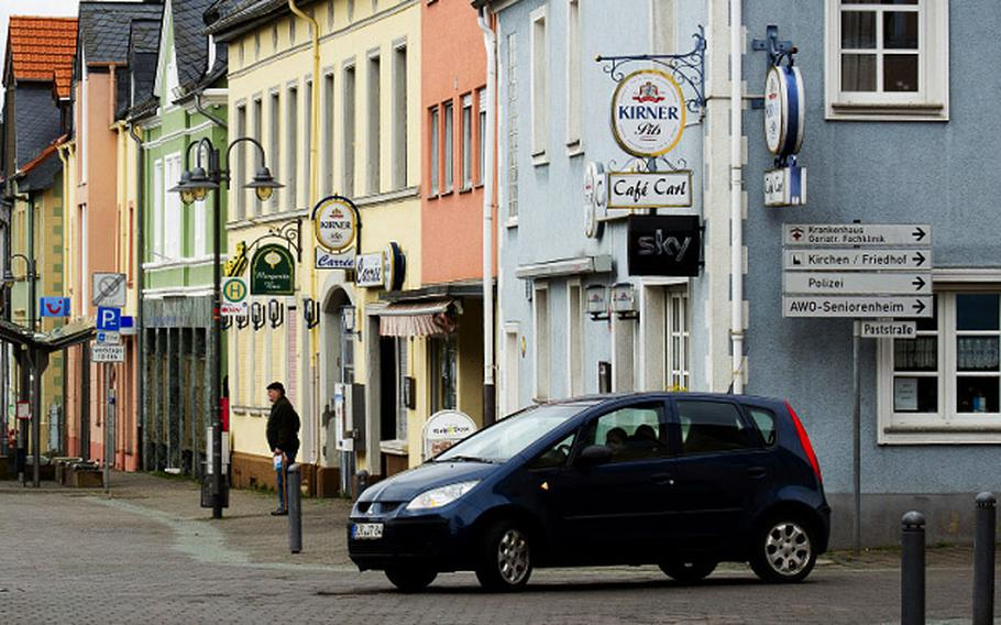 Baumholder, Germany, a town of approximately 4,000 residents, is adjacent to U.S. Army Garrison Baumholder. Garrison officials on Oct. 15, 2020, issued an order barring military community members from frequenting bars and pubs in town after a bar employee continued to work despite testing positive for the coronavirus.