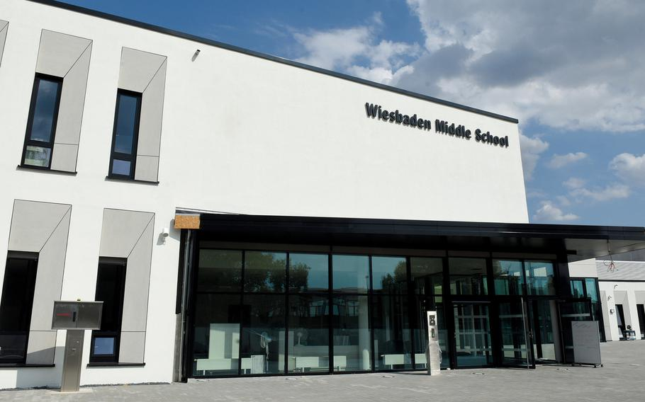 Wiesbaden Middle School was ordered closed to in-person learning, possibly until Jan. 4, 2021, after a spike in coronavirus cases. The students will shift to virtual learning.