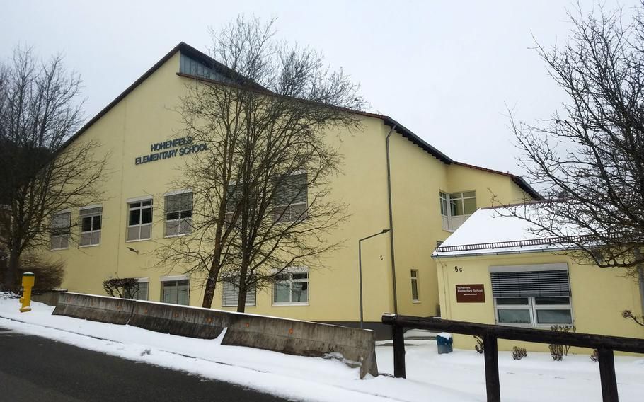 Hohenfels Elementary School is one of many serving the U.S. military community in Germany that were closed on Monday, Dec. 7, 2020, after an unspecified number of coronavirus cases were reported.