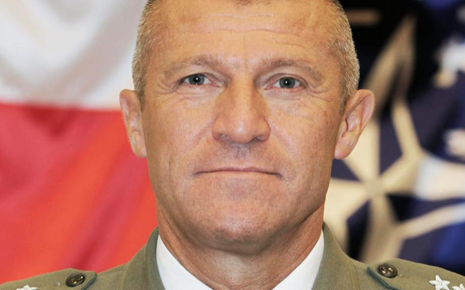 Polish Maj. Gen. Adam Joks will serve as deputy commander of the U.S. Army's recently reestablished V Corps headquarters, which oversees soldiers along NATO's eastern flank.