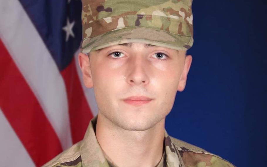 Pfc. Ian N. Morosoff, a 173rd Airborne Brigade soldier, was killed May 1, 2021, in a car crash near Caserma Ederle, in Vicenza, Italy, the brigade said May 3.