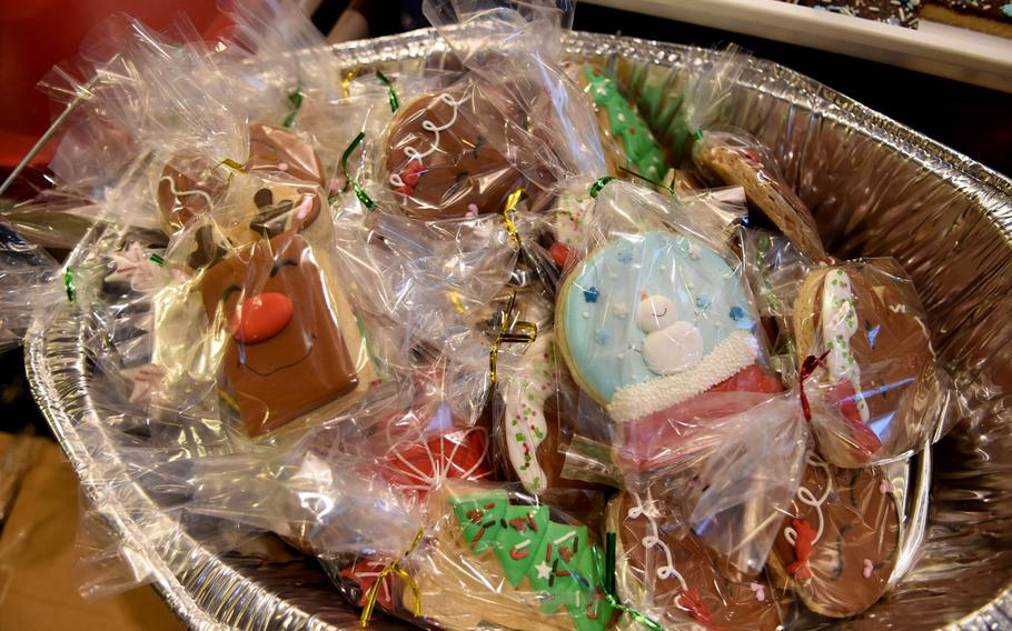 Community members donated more than 18,000 cookies in two days for the annual holiday cookie drive at Ramstein Air Base, Germany.
