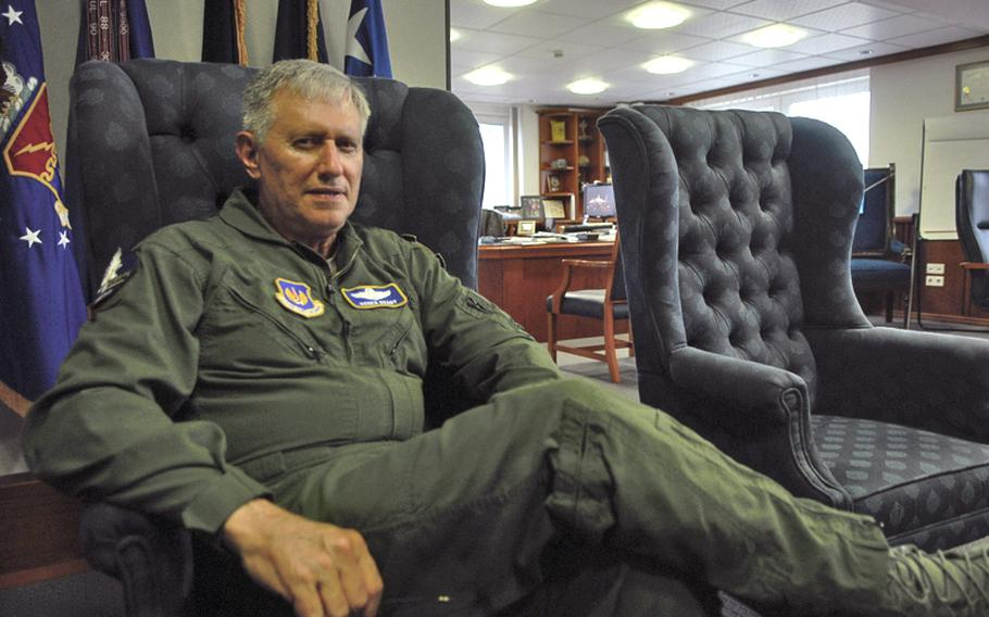 Gen. Roger Brady, U.S. Air Forces in Europe commander, is a vocal advocate of a continued U.S. military presence in Europe, despite repeated calls by some U.S. lawmakers to reduce that footprint to save money. Brady is expected to retire soon, but no date has been set.