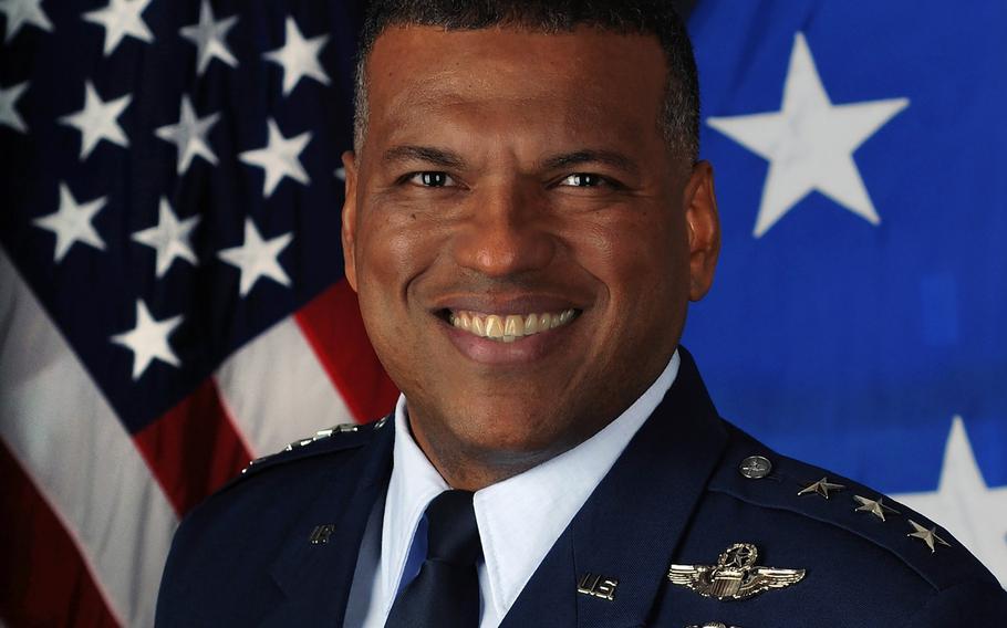 Lt. Gen. Richard M. Clark, 3rd Air Force commander.