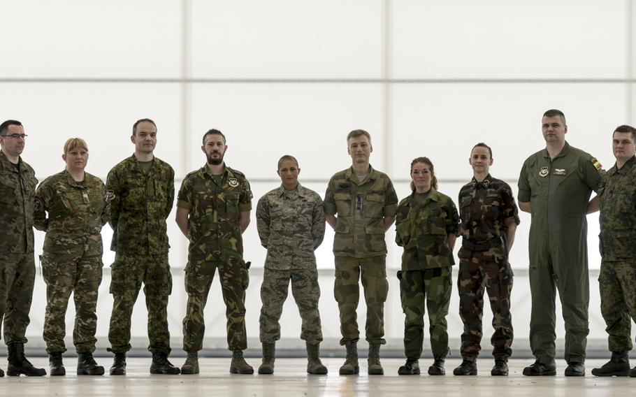 The Strategic Airlift Capability program, a multinational mission, is comprised of 12 countries operating out of Papa Air Base, Hungary.