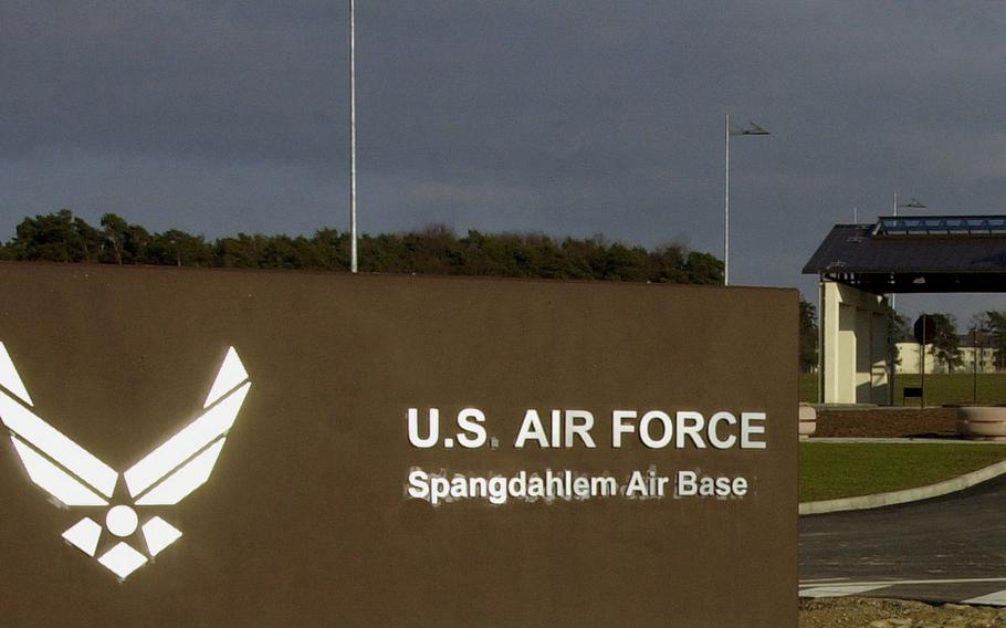 Spangdahlem Air Base, Germany was in a lockdown on Thursday.