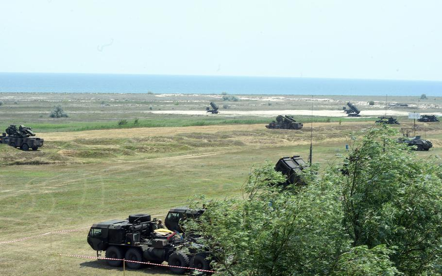 U.S. and Romanian air defense systems in Capu Midia, Romania, on Thursday, June 20, 2019.