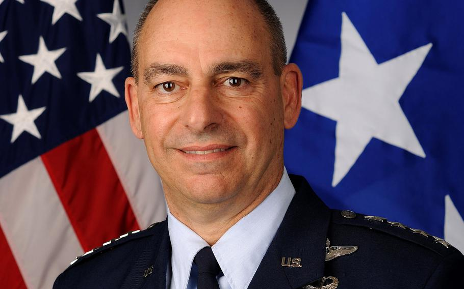 Comments by Gen. Jeffrey L. Harrigian, commander of  U.S. Air Forces in Europe, about a plan to break through Russian air defenses in Kaliningrad, if necessary, were met with ridicule by Russian Prime Minister Dmitry Medvedev.