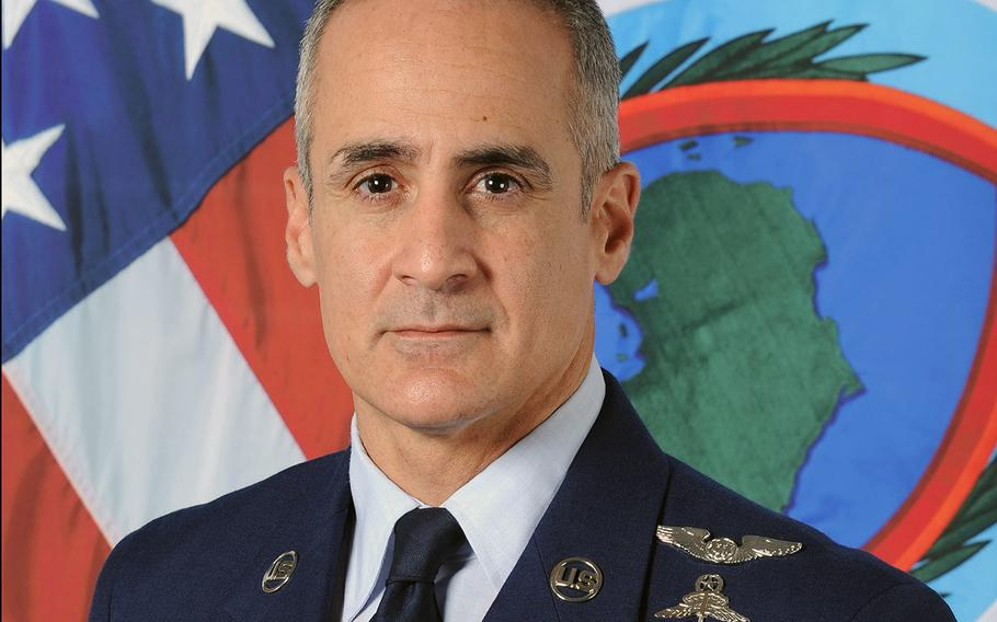 Chief Master Sgt.Ramon Colon-Lopez, the outgoing senior enlisted leader at U.S. Africa Command, will be moving to Washington, D.C. to take up the position of senior enlisted adviser to the chairman of the Joint Chiefs of Staff.  AFRICOM