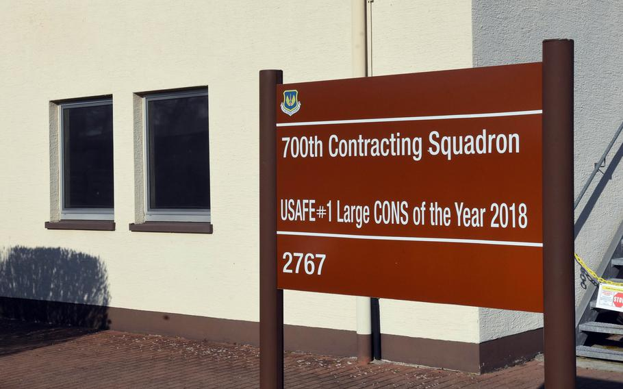 The 700th Contracting Squadron on Kapaun Air Station in Kaiserslautern, Germany, has awarded a $425 million contract to expand bases in Kaiserslautern and at Spangdahlem to six U.S. and German companies.