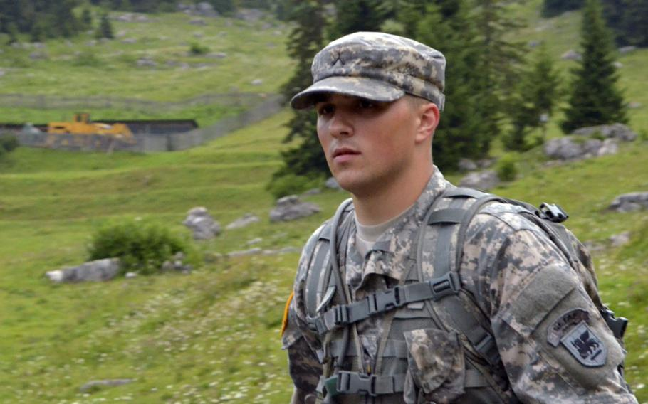 Then-Pvt. Brian K. Hollenbeck during U.S. Army Africa's ''Best Warrior'' competition in 2014, which he won. Convicted of sexually assaulting his sleeping mother-in-law three years ago, he was again found guilty in a retrial in January 2020.