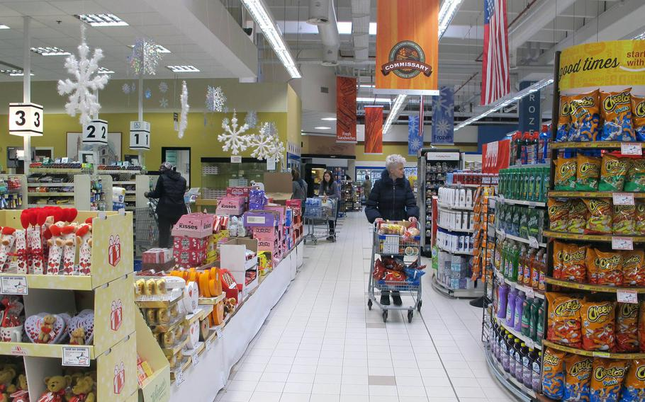 Vicenza commissary shoppers said convenience and brand names were primary reasons they did most of their shopping on base. Shopping habits factored into a new decrease in the cost-of-living allowance to troops and families assigned to the base.