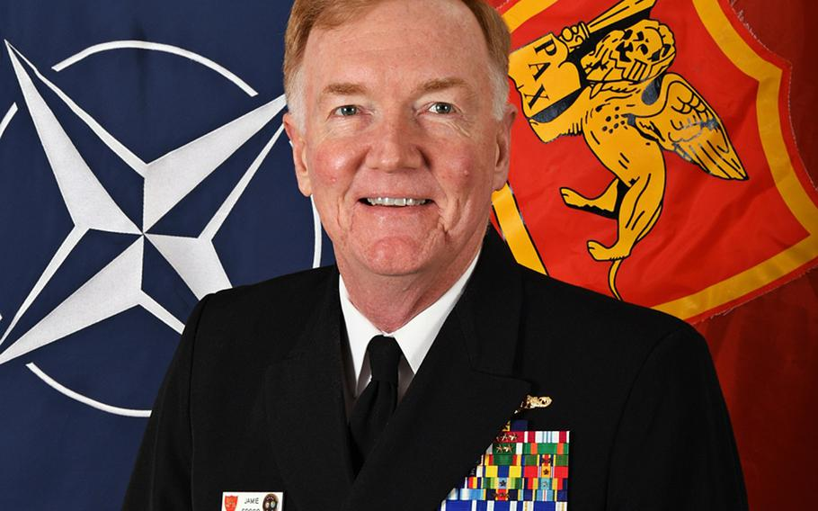 Adm. James Foggo, commander of Naval Forces Europe and Africa said in a speech on June 25, 2020, that a buildup by Russia is turning the eastern Mediterranean Sea into one of the world's most militarized zones.