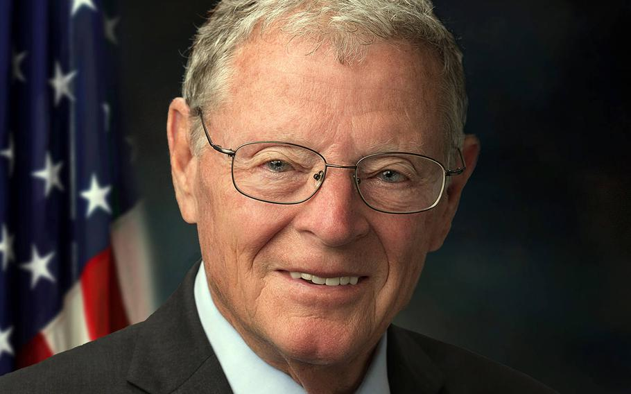 Sen. James Inhofe of Oklahoma, chairman of the Senate Armed Services Committee, said he now supports the idea of reducing troops in Germany after a briefing on the plan July 22, 2020, by U.S. European Command's Gen. Tod Wolters.