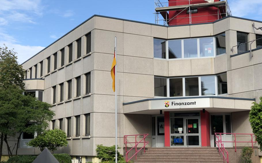 The tax office in the Kusel-Landstuhl area of Germany has ramped up efforts to collect taxes from some members of the U.S. military community.