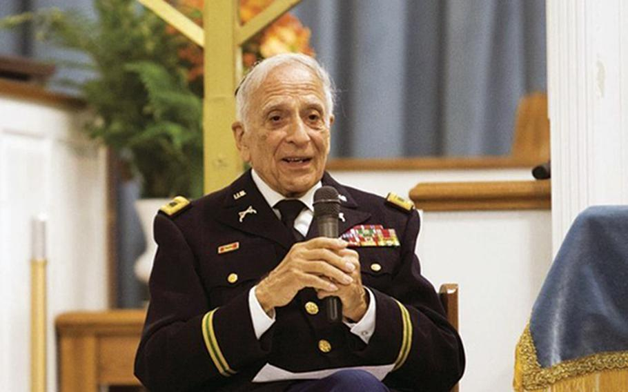 Frank Cohn, a 95-year-old retired Army colonel who survived the Holocaust, is slated to receive one of the top honors for military police, the Order of the Marechaussee, from the Military Police Regimental Association on Sept. 29, 2020.