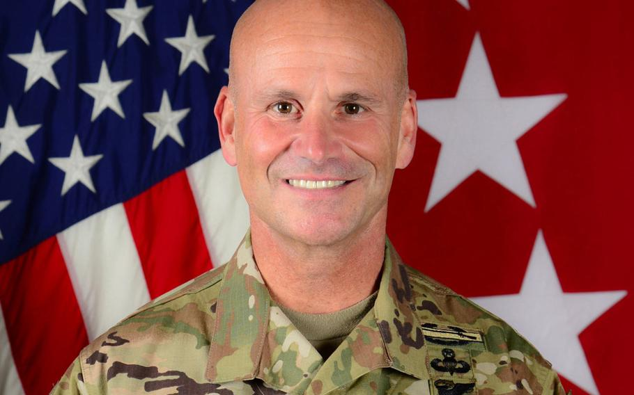 Gen. Christopher G. Cavoli assumed command of the consolidated U.S. Army Europe and Africa Oct. 1, 2020. Before pinning on his fourth star and the consolidation, Cavoli was the commander of U.S. Army Europe, headquartered in Wiesbaden, Germany.