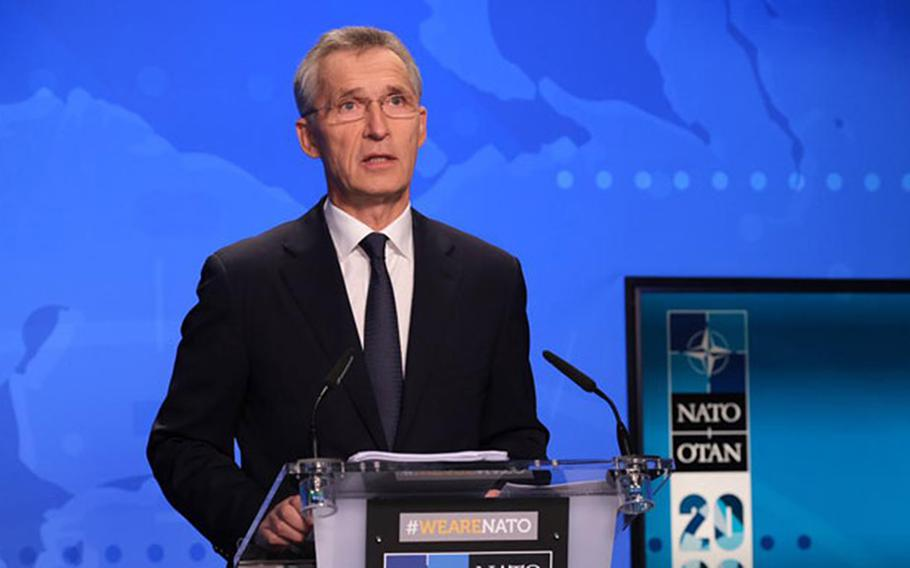 Military spending among the U.S.'s allies in Europe and Canada increased for the sixth consecutive year, NATO Secretary-General Jens Stoltenberg said Wednesday.