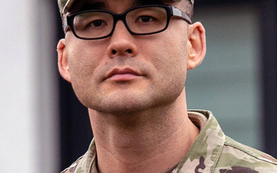 Air Force Master Sgt. Matthew Larsen, who has been targeted by the tax office in the Landstuhl-Kusel area, plans to leave Germany with his family after he retires in the coming months.