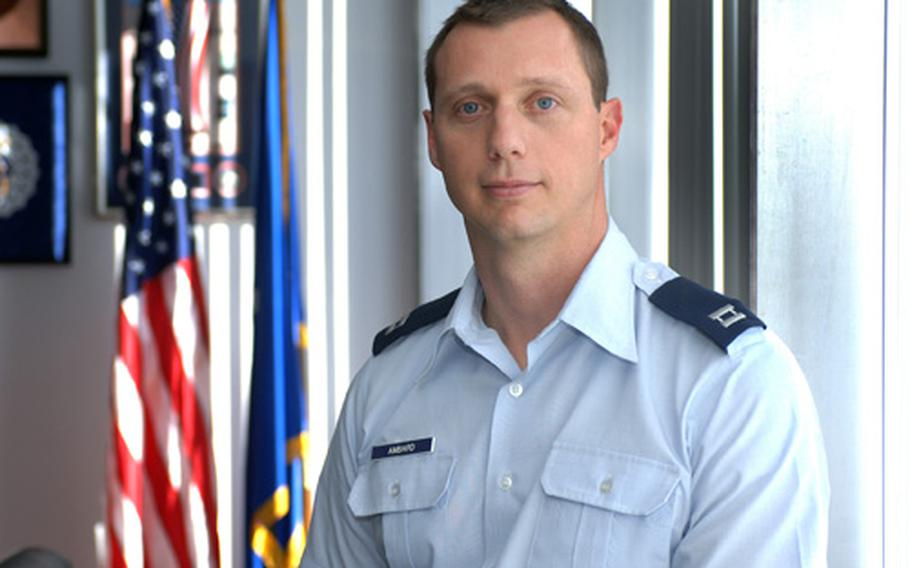Maj. Philip D. Ambard was one of nine people killed by an Afghan pilot on April 27, 2011, in Kabul.