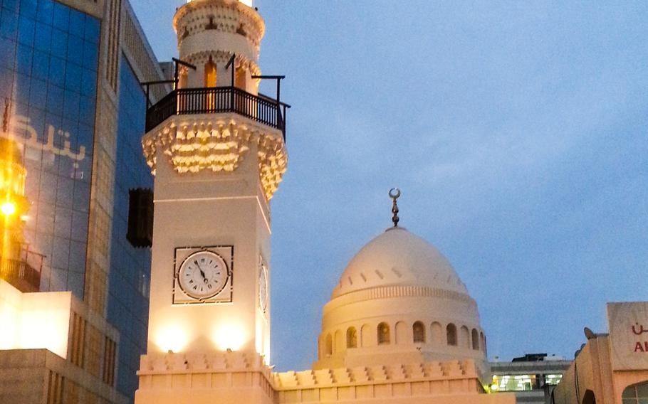 The Yateem Mosque in Central Manama, Bahrain, on Nov 20, 2013.