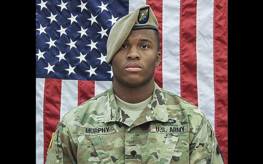 Army Spc. Etienne J. Murphy