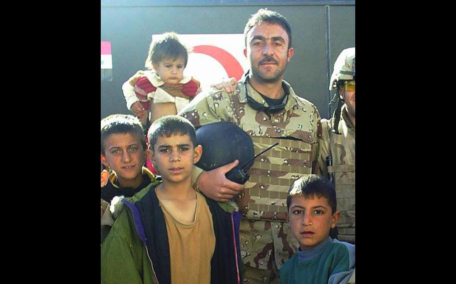 """Iraqi linguist Barakat Ali Bashar, known as """"Andy"""" to troops, was killed by a suicide bomber while supporting Army Special Forces in September 2007."""