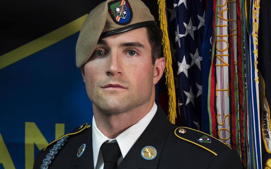 Sgt. Cameron A. Meddock, 26, of Spearman, Texas.