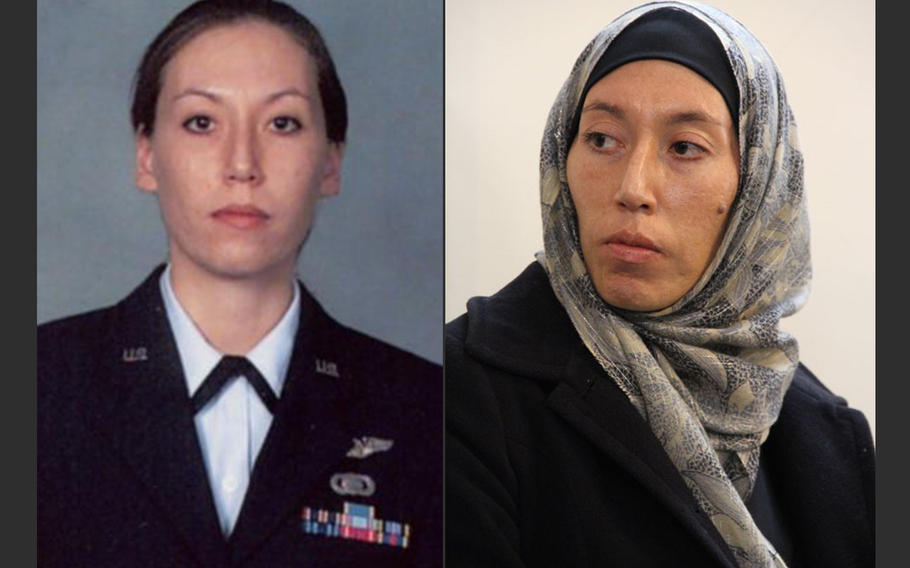 Monica E. Witt, a former Air Force technical sergeant and Defense Department intelligence contractor has been charged by the U.S. with spying for Iran.