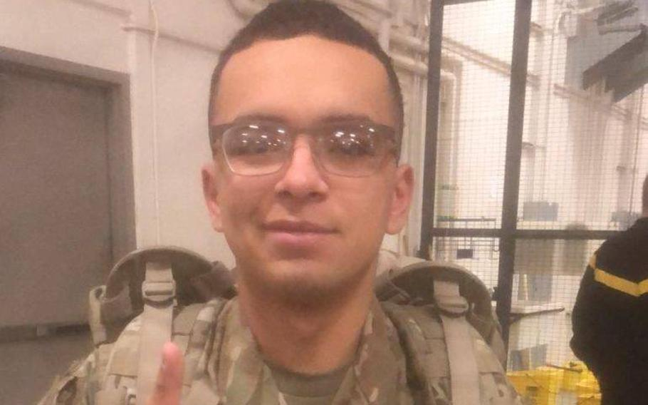 Spc. Michael T. Osorio, an Idaho soldier assigned to Fort Carson, Colo., died Tuesday April 23, 2019 in a noncombat incident in Taji, Iraq.