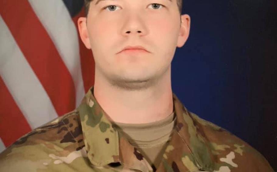 """Pfc. Michael A. Thomason, 28, of Lincoln Park, Mich., died of """"wounds sustained from a non-combat incident"""" in Kobani, Syria, according to a statement issued late Monday by the Pentagon."""