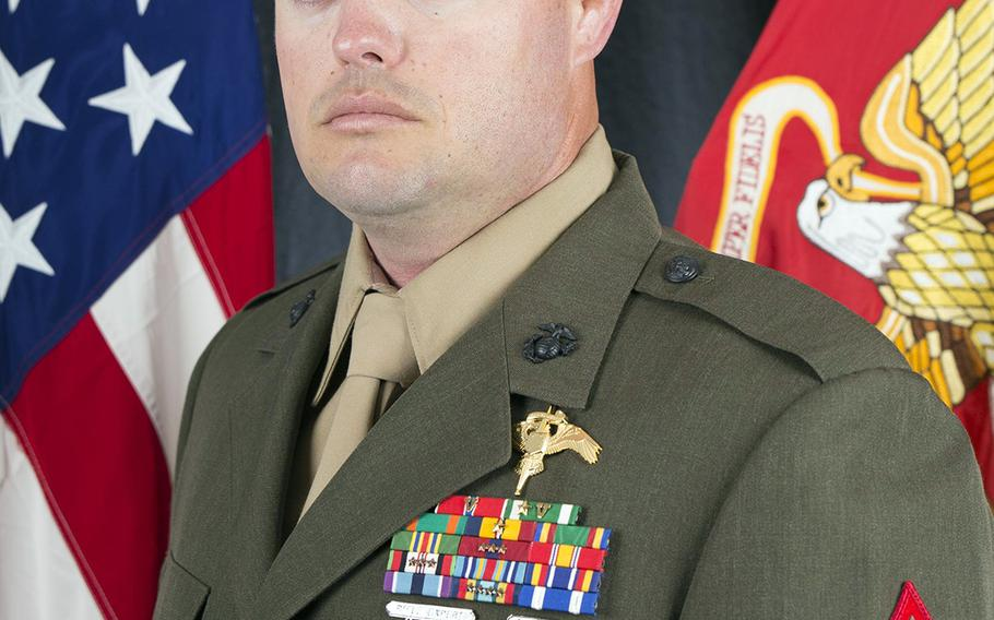 Gunnery Sgt. Scott A. Koppenhafer, 35, a critical skills operator with the 2nd Marine Raider Battalion, was killed while supporting Iraqi Security Forces in Ninevah province, Saturday, Aug. 10, 2019.