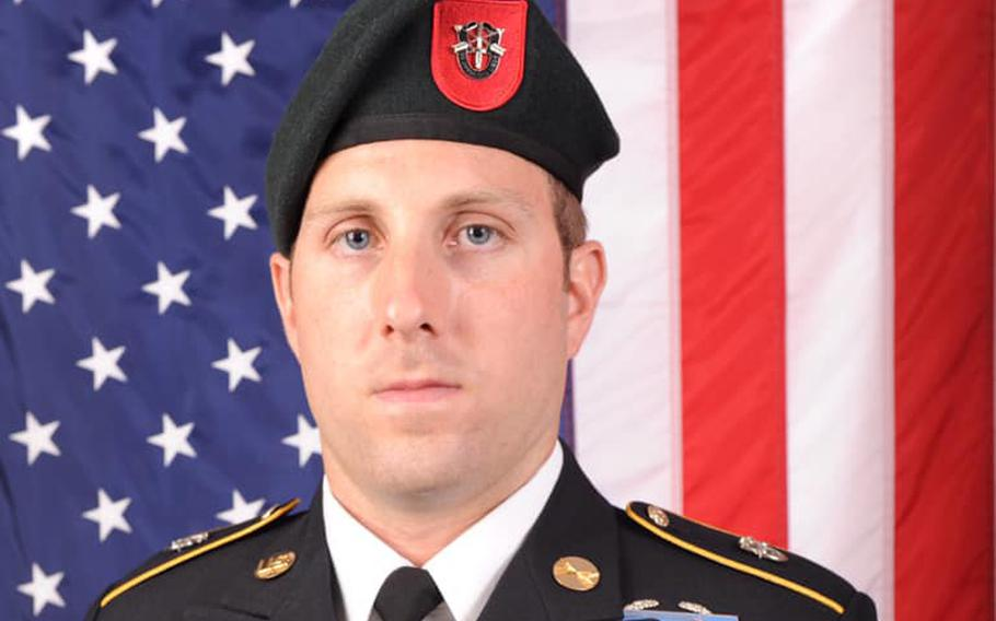 Sgt. 1st Class Michael J. Goble, 33, of Washington Township, New Jersey, died Dec. 23 as a result of injuries sustained in a roadside bombing in Kunduz Province, Afghanistan.