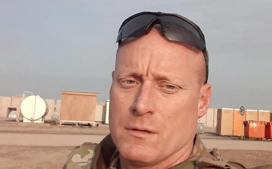 Sgt. 1st Class John David Randolph Hilty, from Bowie, Md., died March 20, 2020, in Irbil, the Pentagon said in a statement.