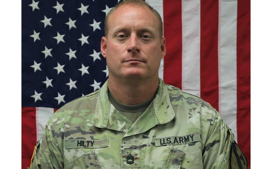 Sgt. 1st Class John David Randolph Hilty.