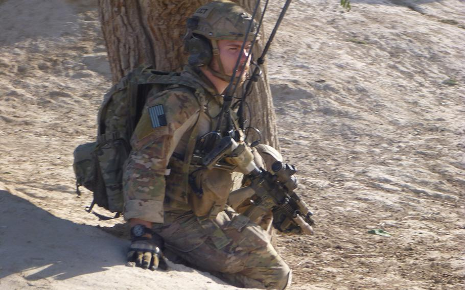 Air Force Master Sgt. John Grimesey will receive the Silver Star on Friday, Aug. 14, 2020 for actions during a 2013 firefight in Afghanistan.