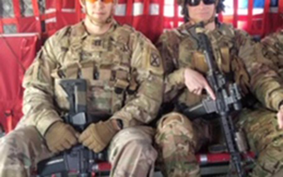 Capt. Matthew Dixon, of the 1st Battalion, 87th Infantry of the 10th Mountain Division, had his deployment to Afghanistan in 2020 cut short after five weeks. Other soldiers spoke to him about their disappointment over their deployments ending much sooner than expected.