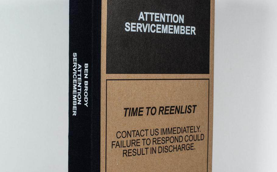 """""""Attention Servicemember,"""" a  book by U.S. Army war veteran Ben Brody, attempts to convey the experience of the Iraq and Afghanistan Wars via photography."""