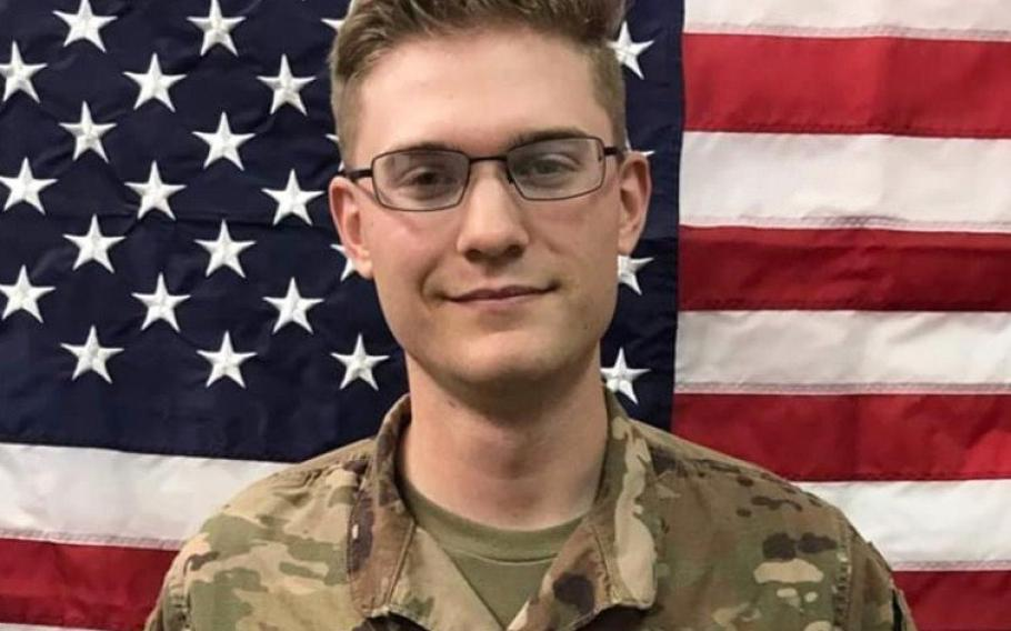 Sgt. Christopher Wesley Curry, a 23-year-old soldier from Terre Haute, Ind., died May 4, 2020, in a noncombat-related incident in Irbil, Iraq.