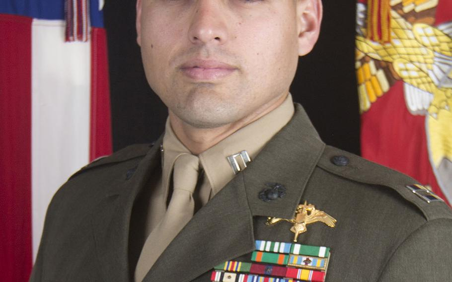 Capt. Moises A. Navas, a special operations officer from Germantown, Md., suffered fatal wounds while accompanying Iraqi Security Forces during a mission to eliminate an ISIS stronghold in a mountainous area of north-central Iraq. He was 34 years old and assigned to 2nd Marine Raider Battalion.