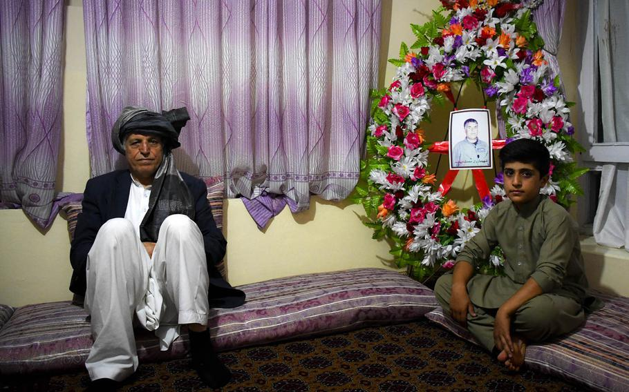 Assassinations of Afghan pilots leave families like that of Mohammed Shah, killed in 2018, grieving and angry at a government they say did not protect their loved ones.