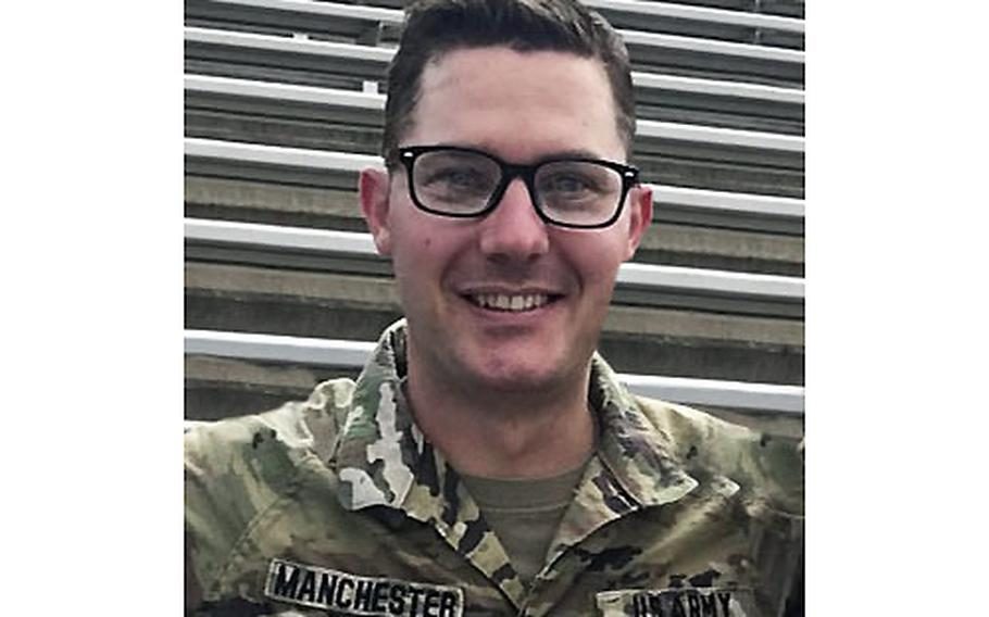 Staff Sgt. Timothy Luke Manchester