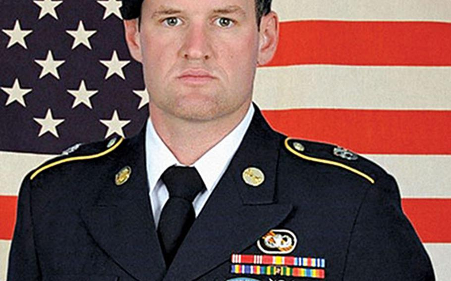 Staff Sgt. James F. Moriarty posthumously received the Silver Star Medal, Jan. 27, 2021, for his actions during an attack in Jordan in November 2016, in which he was killed.
