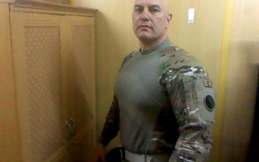 Maj. Robert J. Marchanti II, 48, of Baltimore, in an undated photo. Marchanti, a Maryland National Guardsman, was killed in the attack on the Afghan Interior Ministry in Kabul on Feb. 25, 2012. Abdul Saboor, who killed Marchanti in 2012, had been sentenced to 20 years in prison in 2016, but was set free Friday, Afghan officials said.